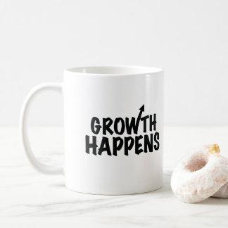 De groei gebeurt de Mok van de Koffie