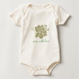 De groei met Liefde Baby Shirt