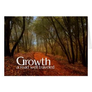 De groei | Zaken die de Weg van de Douane van | Wenskaart