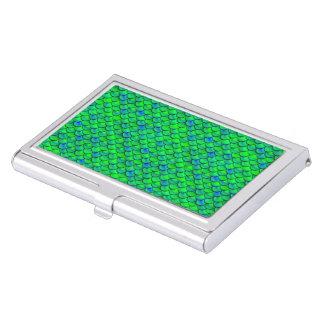 De Groenachtig blauwe Schalen van Falln Visitekaarthouder