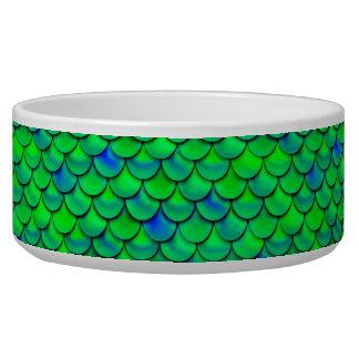 De Groenachtig blauwe Schalen van Falln Voerbakje