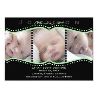 De groene Aankondiging van de Geboorte van de Foto