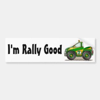 De groene Auto van de Verzameling ben ik Sticker v Bumpersticker