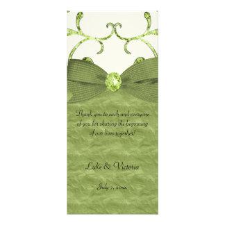 De groene Boog van de Wervelingen van de Reclamekaart
