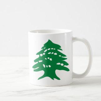 De groene Ceder van Libanon Koffiemok