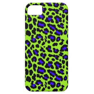 De groene Druk van de Jachtluipaard Barely There iPhone 5 Hoesje