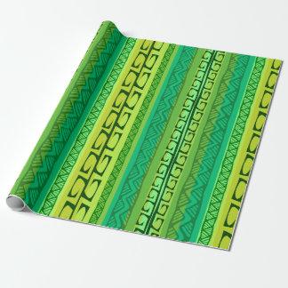 De groene Haken van Nipa - Cadeaupapier