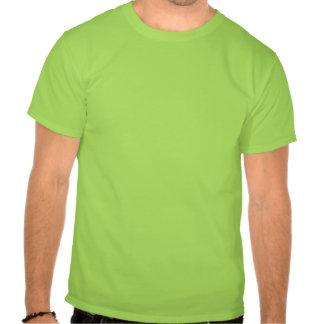 De groene Ierse Snor van de Snor Tshirt