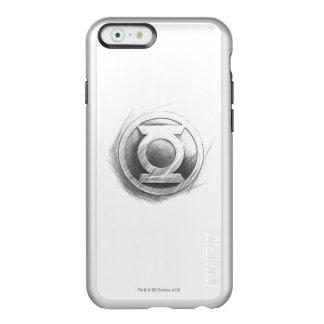 De groene Insignes van de Lantaarn Incipio Feather® Shine iPhone 6 Hoesje