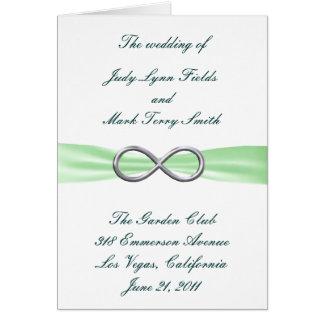 De groene Kaart van het Programma van het Huwelijk
