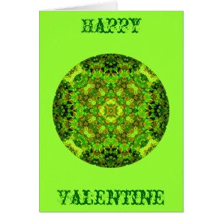 """De """"groene"""" Kaart van Valentijn"""