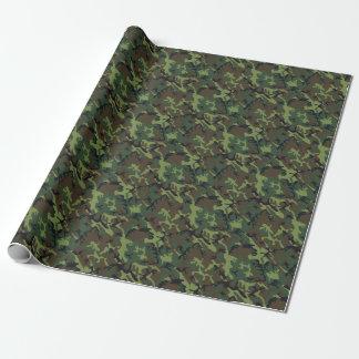 De groene Kerels van de Camouflage van Camo van Inpakpapier