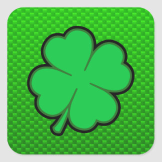 De groene Klaver van Vier Blad