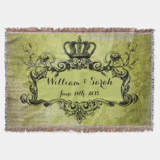 De groene Koninklijke Kroon van het Huwelijk van Deken