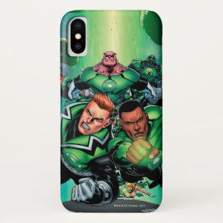 De groene Korpsen van de Lantaarn iPhone X Hoesje