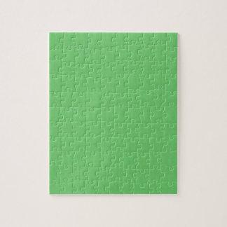 De groene Lege Sjabloon DIY van de Textuur voegt Legpuzzel