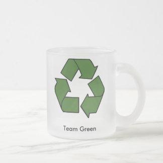 De Groene Mok van het team