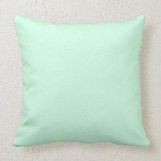 De Groene Munt van de Pastelkleur van Summermint Sierkussen