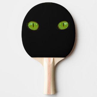 De groene Ogen van de Kat - de Peddel van de Tafeltennis Bat