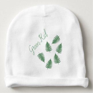 De groene Peuter Beanie van het Patroon van de Baby Mutsje