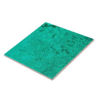 De groene Punt van het Patina van het Patina van Tegeltje
