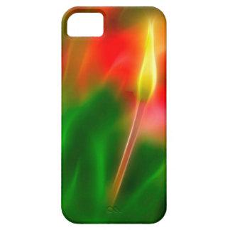 De groene, Rode en Gele Gloed van de Tulp Barely There iPhone 5 Hoesje