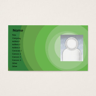 De groene Schaduwen van de Cirkel - Zaken Visitekaartjes