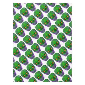 De groene Schedel van de Suiker Tafelkleed
