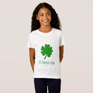 De groene St. Patrick van de klaver T-shirt van de