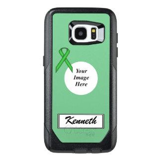 De groene StandaardSjabloon van het Lint door OtterBox Samsung Galaxy S7 Edge Hoesje