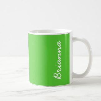De Groene Stevige Kleur van het limoen Koffiemok