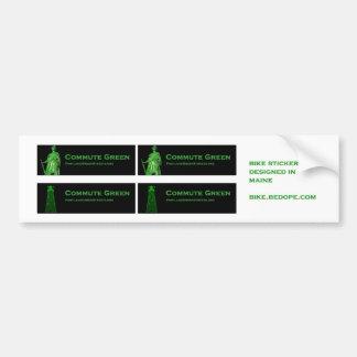 De Groene Straten van Portland Bumpersticker