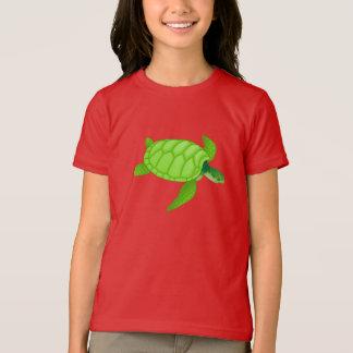 De groene T-shirt van de Meisjes van de Schildpad