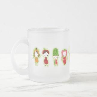 (De groene) Vrienden van het fruit Matglas Koffiemok