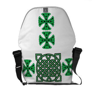 De groene Zak van de Boodschapper van de Riksja Messenger Bag