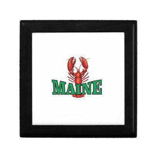 de groene zeekreeft van Maine Decoratiedoosje
