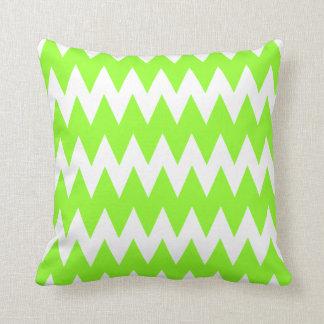 De Groene Zigzag van het limoen Sierkussen