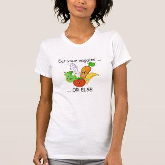 de groenten, eten uw veggies ....., ..... OF T Shirt
