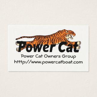 De Groep van de Eigenaars van de Kat van de Macht Visitekaartjes