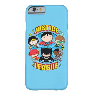 De Groep van de Liga van de Rechtvaardigheid van Barely There iPhone 6 Hoesje