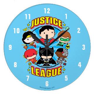 De Groep van de Liga van de Rechtvaardigheid van Grote Klok