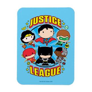 De Groep van de Liga van de Rechtvaardigheid van Vinyl Magneet