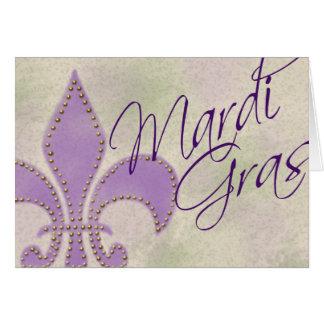 De Groet van Gras van Mardi Kaart