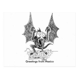 De Groeten van Chupacabra van Mexico Briefkaart