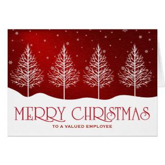 De Groeten van Kerstmis Appreciatie van de Kaart