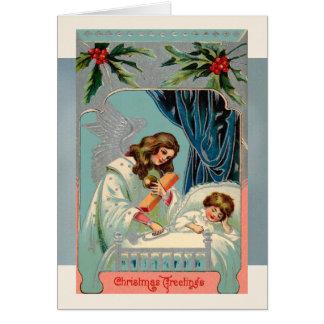 De Groeten van Kerstmis voor de Nieuwjaarskaarten Briefkaarten 0