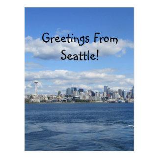 De Groeten van Seattle Briefkaart