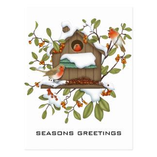 De Groeten van seizoenen Briefkaart