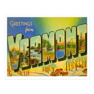 De Groeten van Vermont van de Staten van de V.S. Briefkaart