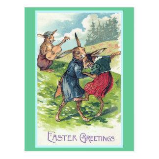 De Groeten Vintage Pasen van Pasen Briefkaart